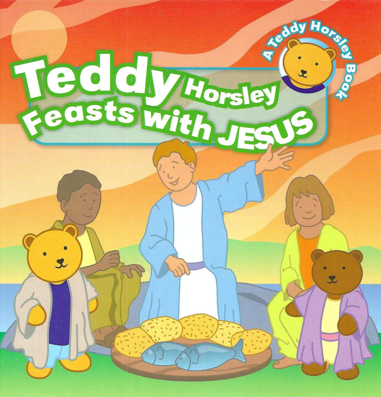 Teddy Horsley feasts with Jesus