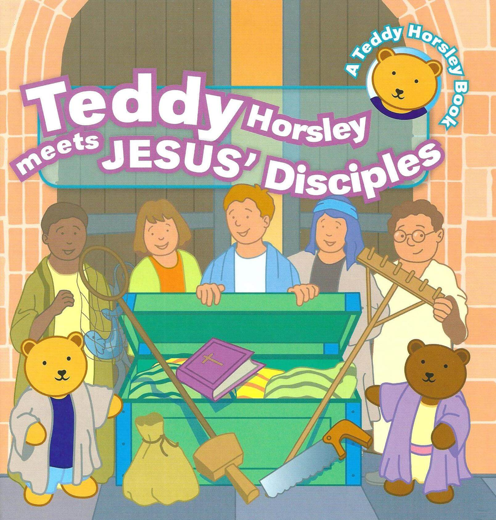 Teddy Horsley meets Jesus' Disciples