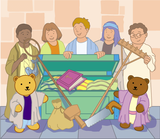 Teddy Horsley meets Jesus' Disciples - 5