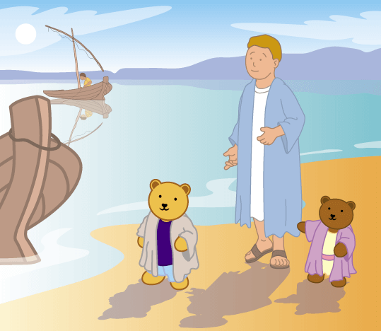 Teddy Horsley meets Jesus' Disciples - 6