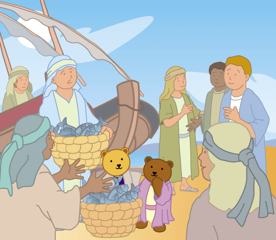 Teddy Horsley meets Jesus' Disciples - 7