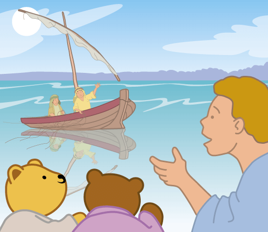 Teddy Horsley meets Jesus' Disciples - 9