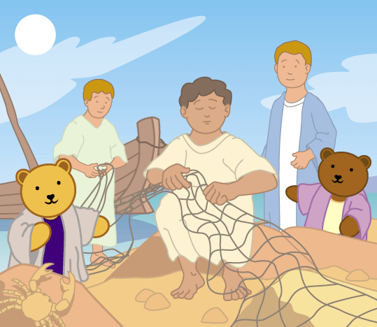Teddy Horsley meets Jesus' Disciples - 10