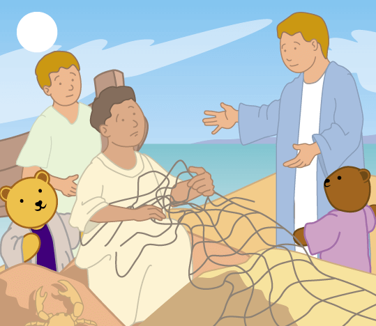 Teddy Horsley meets Jesus' Disciples - 11