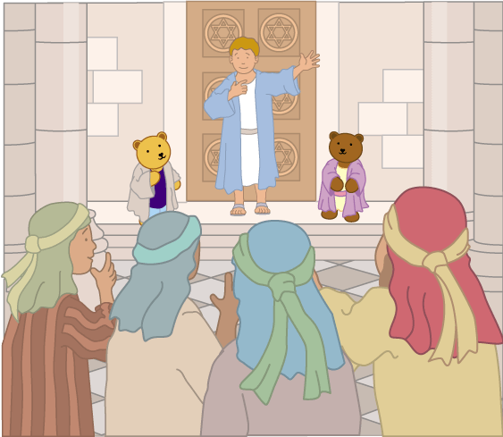 Teddy Horsley meets Jesus' Disciples - 12
