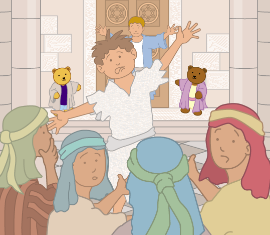 Teddy Horsley meets Jesus' Disciples - 14