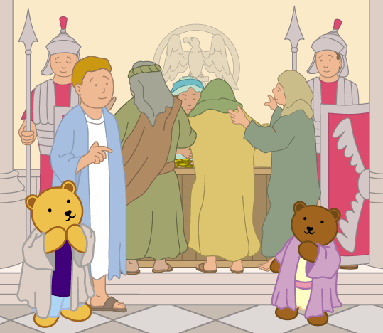 Teddy Horsley meets Jesus' Disciples - 16