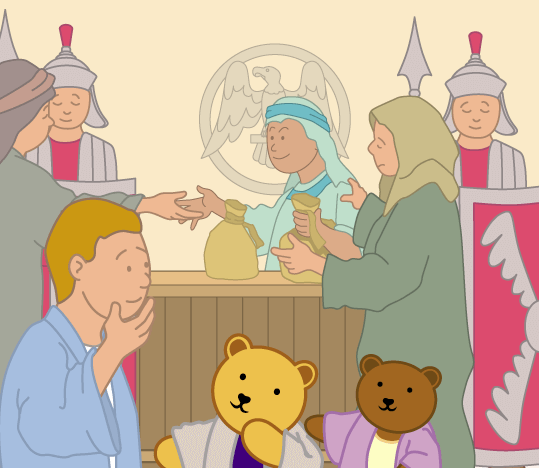 Teddy Horsley meets Jesus' Disciples - 17