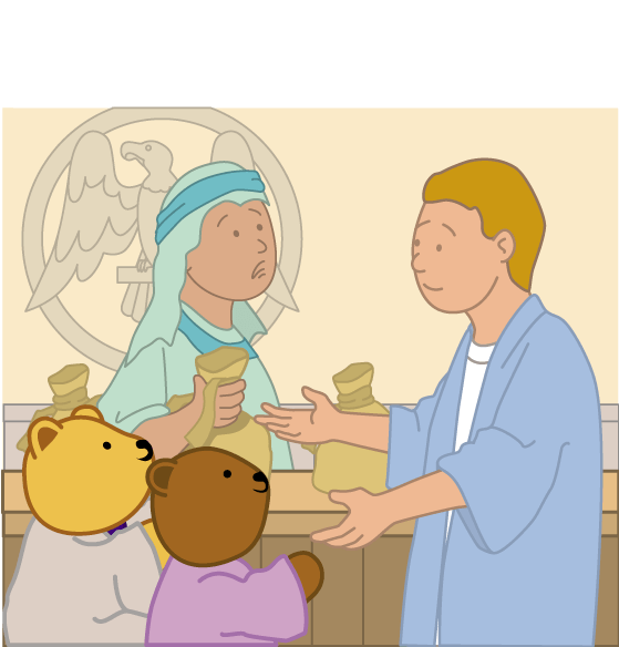 Teddy Horsley meets Jesus' Disciples - 19