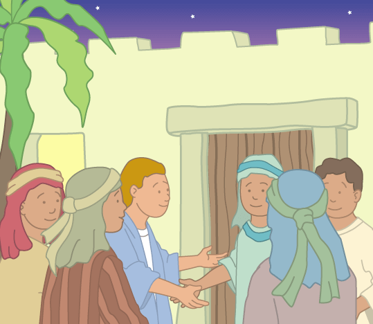 Teddy Horsley meets Jesus' Disciples - 20
