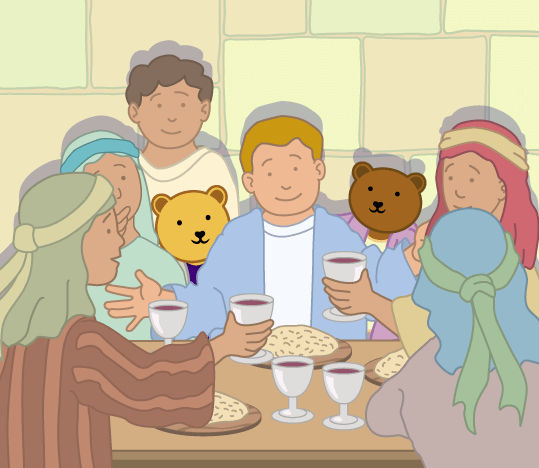 Teddy Horsley meets Jesus' Disciples - 21