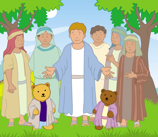 Teddy Horsley meets Jesus' Disciples - 22