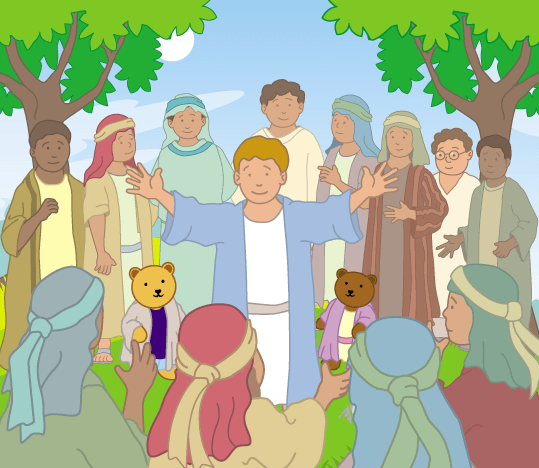 Teddy Horsley meets Jesus' Disciples - 23