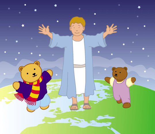 Teddy Horsley meets Jesus' Disciples - 24