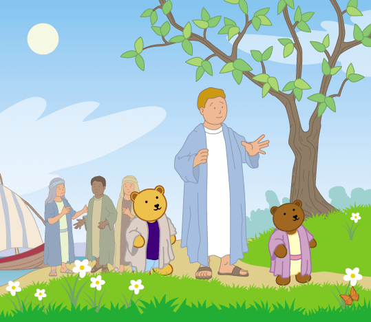 Teddy Horsley feasts with Jesus - 7