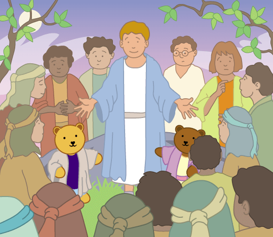 Teddy Horsley feasts with Jesus - 8