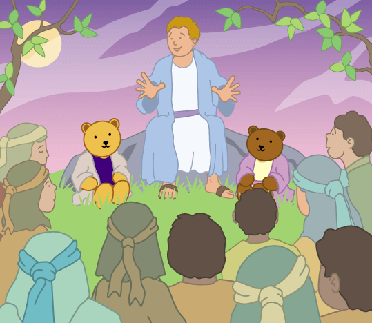 Teddy Horsley feasts with Jesus - 9