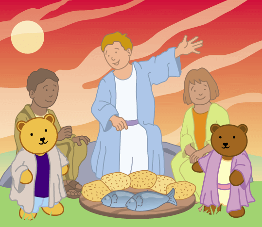 Teddy Horsley feasts with Jesus - 10