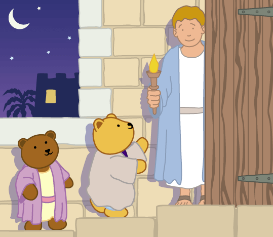 Teddy Horsley feasts with Jesus - 12