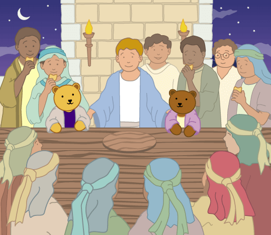 Teddy Horsley feasts with Jesus - 17