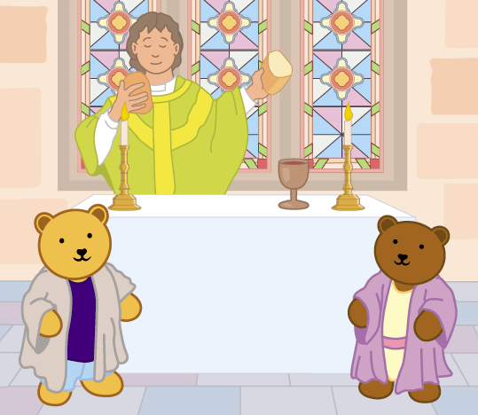 Teddy Horsley feasts with Jesus - 25
